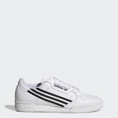 Heren Originals Wit Continental 80 Schoenen