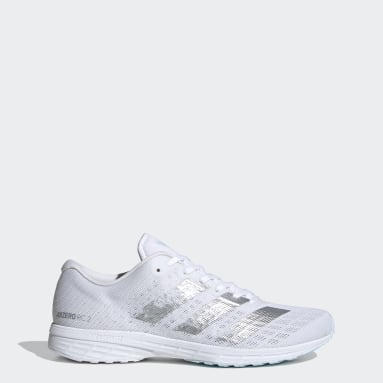 Women Running White Adizero RC 2.0 Shoes