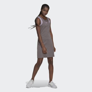 Women's Essentials Grey adidas x Zoe Saldana Dress