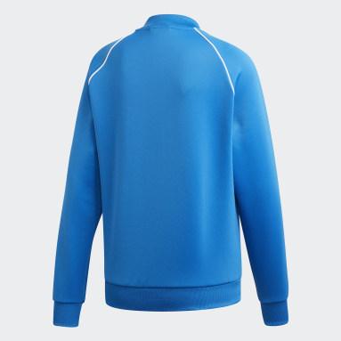 Ženy Originals modrá Sportovní bunda SST