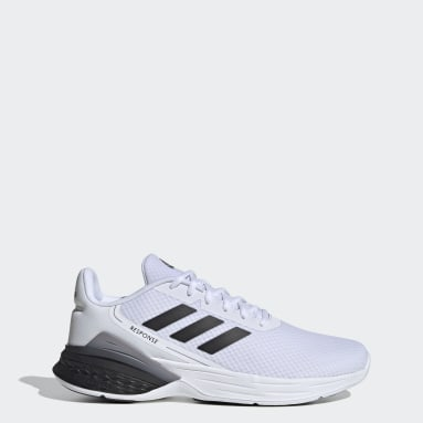 Men's Running White Response SR Shoes