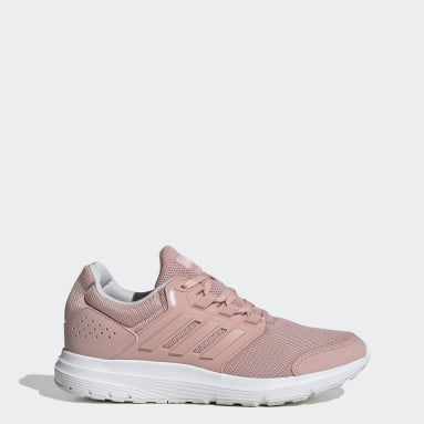 Women Running Pink Galaxy 4 Shoes