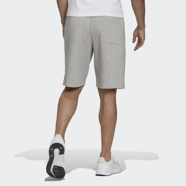 Men's Essentials Grey adidas Essentials Fleece Big Logo Shorts