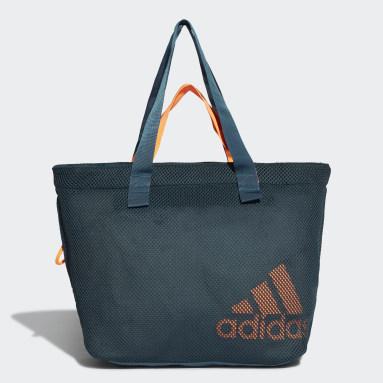 Tote Bag Mesh Sports Turquoise Femmes Handball