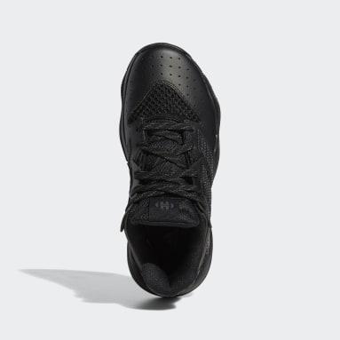 Youth Basketball Black Harden Stepback Shoes