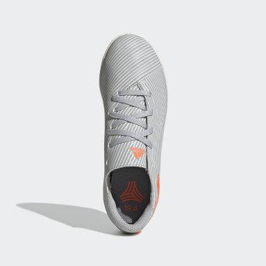 Boys Futsal Grå Nemeziz 19.4 Indoor Boots
