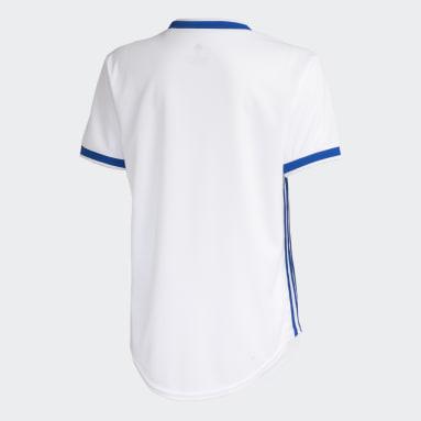 Camisa Cruzeiro 2 Branco Mulher Futebol