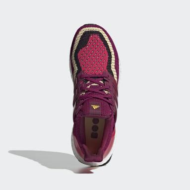 Tenis Ultraboost DNA Granate Mujer Running