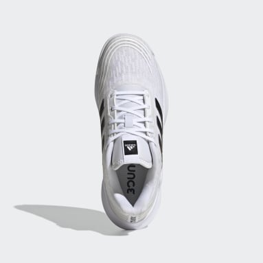 Women Netball White Novaflight Volleyball Shoes
