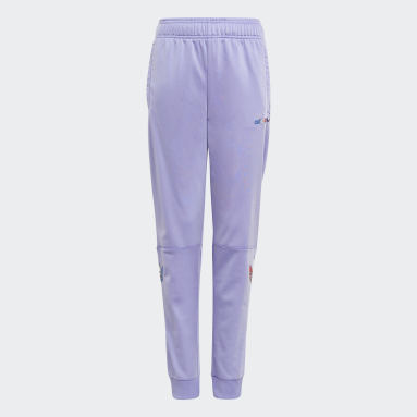 Kids Originals Purple Adicolor Track Pants
