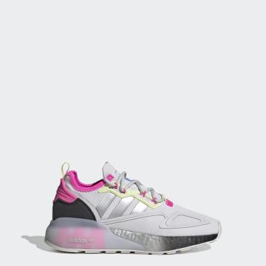 Barn Originals Grå ZX 2K Boost Shoes