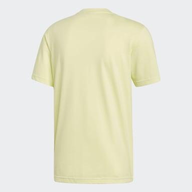 T-shirt Trefoil Jaune Hommes Originals