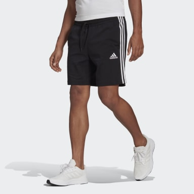 Men Sportswear Black AEROREADY Essentials 3-Stripes Shorts