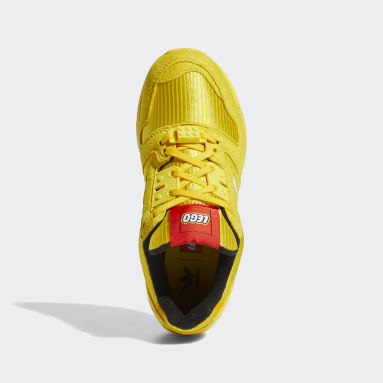 Youth Originals Yellow adidas ZX 8000 x LEGO® Shoes
