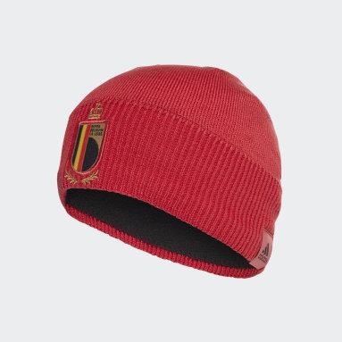 Fußball Belgien Mütze Rot