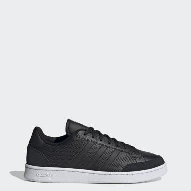 Men Sport Inspired Black Grand Court SE Shoes
