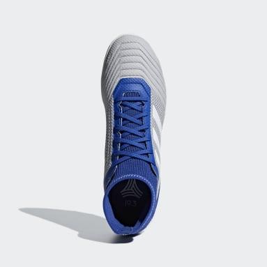 Calzado de fútbol Predator Tango 19.3 Pasto Sintético Gris Hombre Fútbol