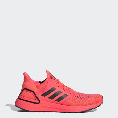 Heren Hardlopen Roze Ultraboost 20 Schoenen