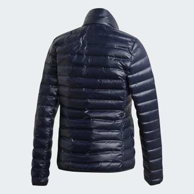 Women City Outdoor Blue Varilite Down Jacket