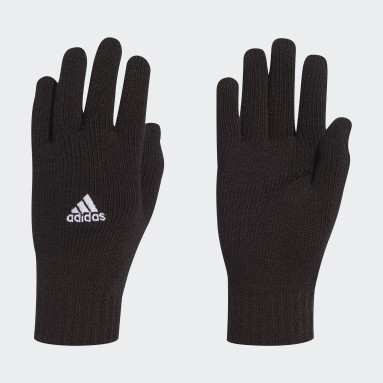 Futbal čierna Rukavice Tiro