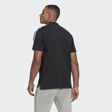 Polo AEROREADY Essentials Piqué Embroidered Small Logo 3-Stripes Noir Hommes Sportswear