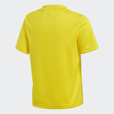 Kids Football Yellow Core 18 Training Jersey