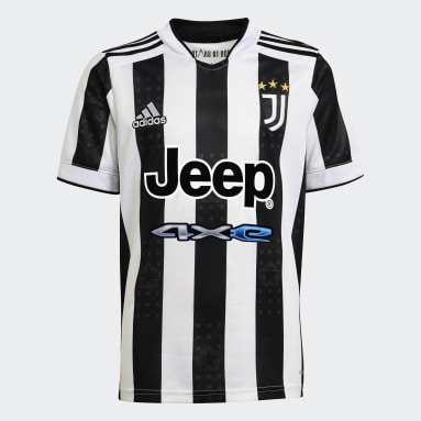 Youth Soccer White Juventus 21/22 Home Jersey
