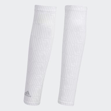 Women Golf White UV Graphic Arm Sleeves