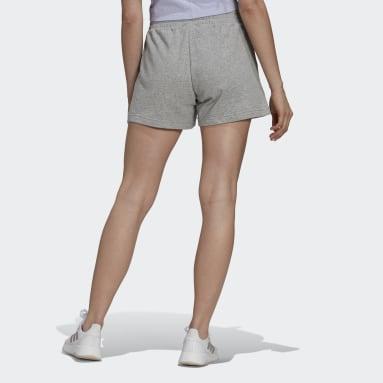 Women's Essentials Grey adidas x Zoe Saldana Soft Knit Shorts