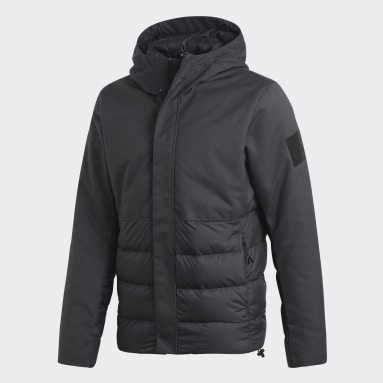 Men's Lifestyle Grey Climawarm Down Jacket
