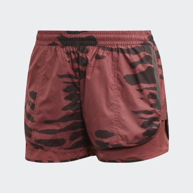 Women adidas by Stella McCartney Red Run M20 Shorts