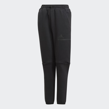 Youth 8-16 Years Sportswear Black Z.N.E. Tracksuit Bottoms