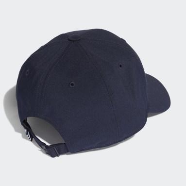 Tennis Blauw Lightweight Metal Badge Honkbalpet
