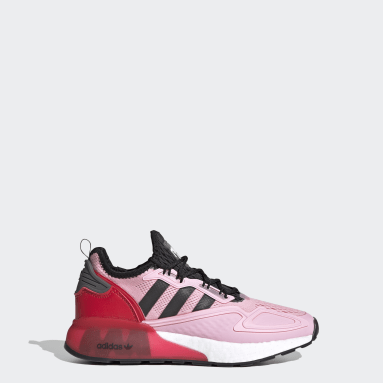 Kids Originals Pink Ninja ZX 2K Boost Shoes