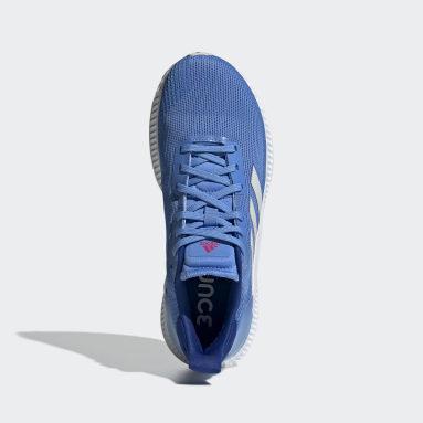 Dames Hardlopen Blauw Solar Blaze Schoenen