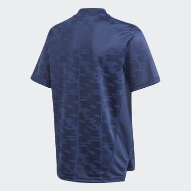 Boys Fodbold Blå Condivo 21 Primeblue trøje