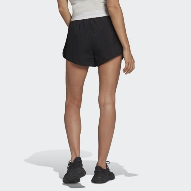 Women's Originals Black Adicolor Classics 3-Stripes Shorts