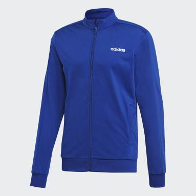 Buzo Basics Azul Hombre Training