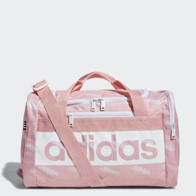 Women Essentials Pink Court Lite Duffel Bag