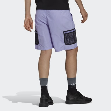 adidas Adventure Woven Cargo Shorts Fioletowy