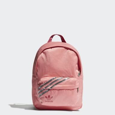 ผู้หญิง Originals สีชมพู กระเป๋าเป้