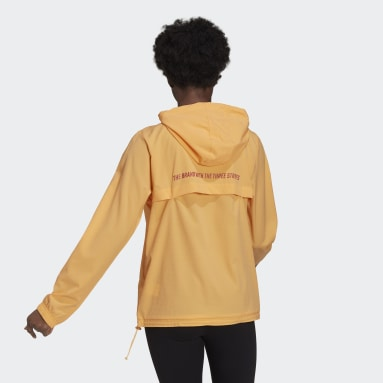 Women Sportswear Orange Essentials Gradient Anorak Windbreaker