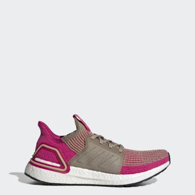 Women Running Brown Ultraboost 19 Shoes
