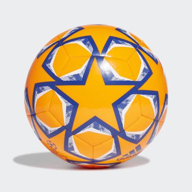 Men Football Orange UCL Finale 20 Club Ball