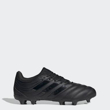 Zapatos de Fútbol Copa 20.3 Terreno Firme Negro Hombre Fútbol