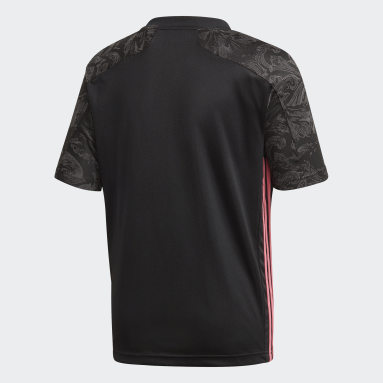 Kinderen Voetbal Zwart Real Madrid 20/21 Derde Shirt