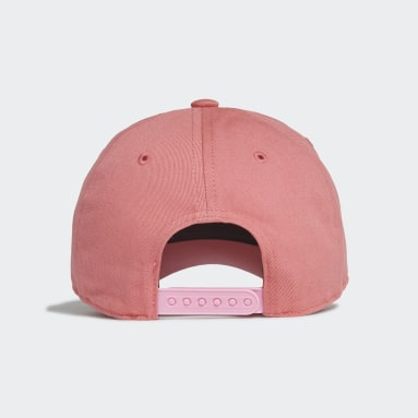 Youth 8-16 Years Gym & Training Pink Graphic Cap