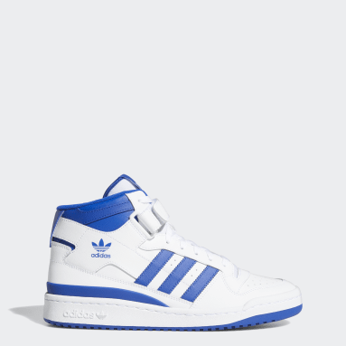 Men's Originals White Forum Mid Shoes