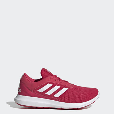 Women Running Pink Coreracer Shoes