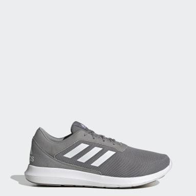 Men Running Grey Coreracer Shoes